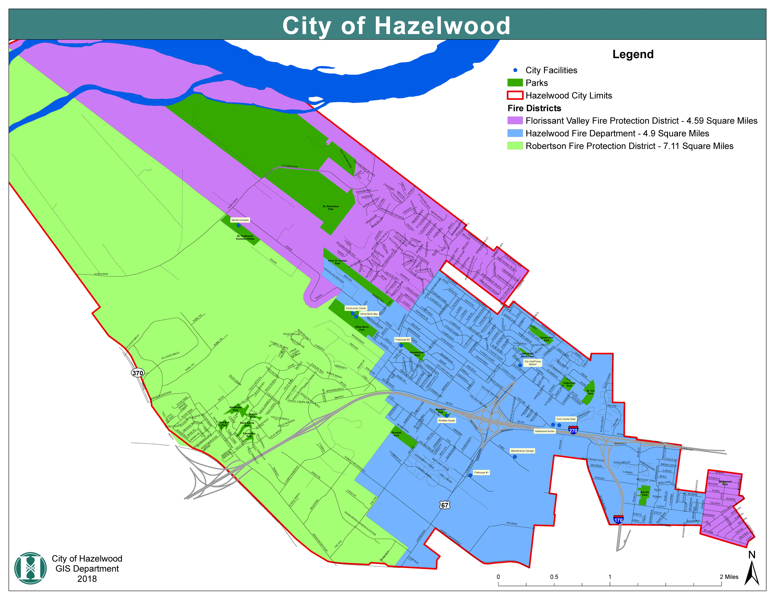 Fire District Map